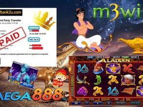 Aladdin slot game tips to win RM5760 in Mega888