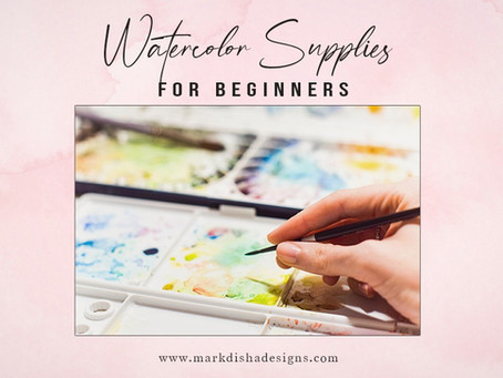 Watercolor Supplies for Beginners