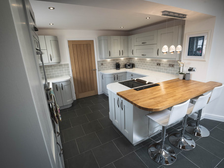 Claire & Andy's Contemporary Kitchen - Exeter
