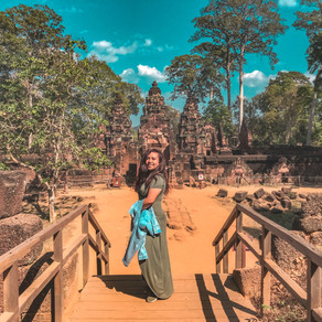 Banteay Srei, Cambodia : the Citadel of Women