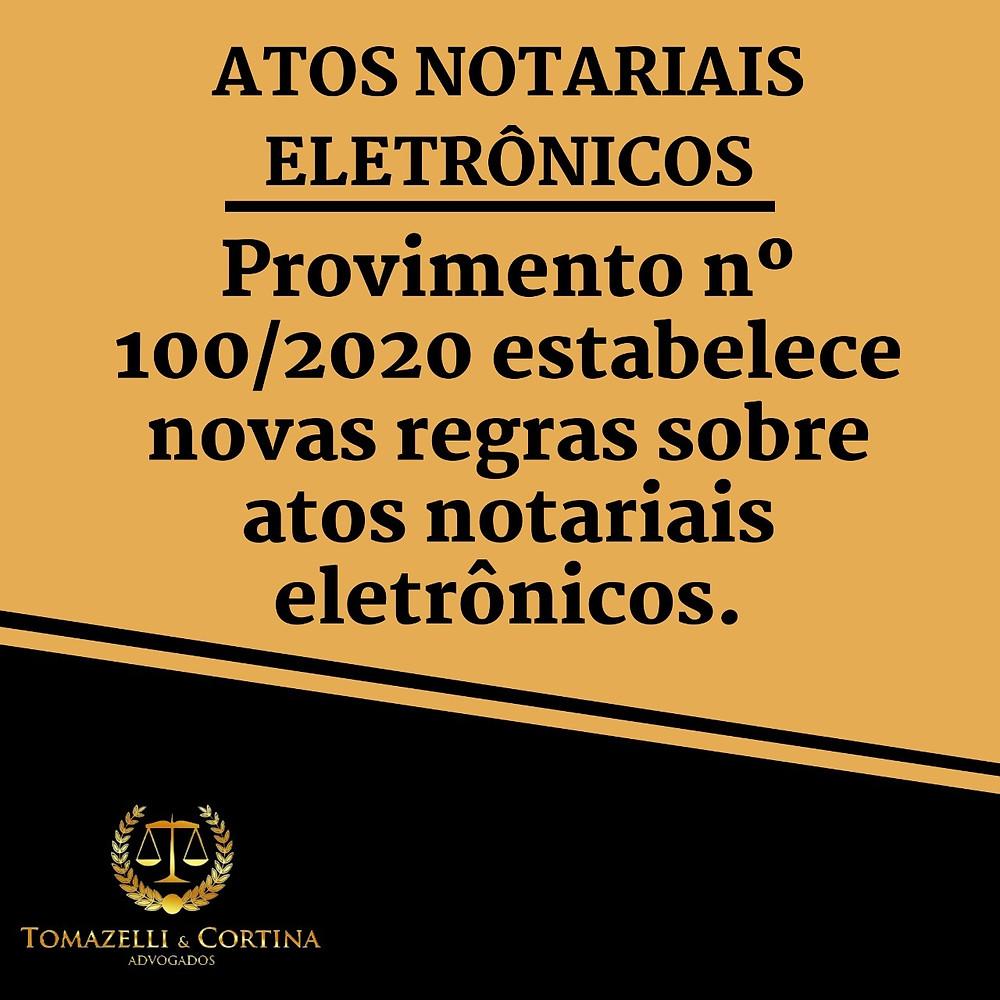 atos notariais eletrônicos