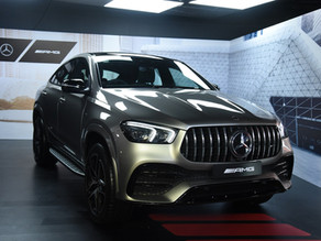 Mercedes AMG GLE53 4MATIC+ Coupé launched at Rs.1.2 Crore