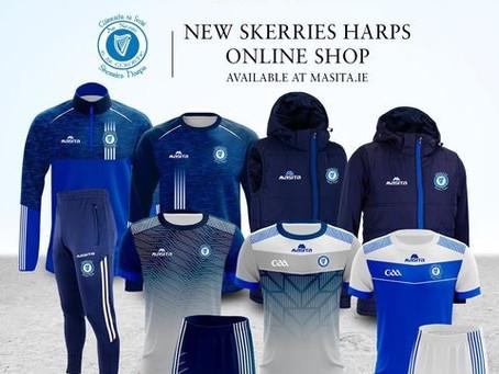 Skerries Harps Club Shop Open