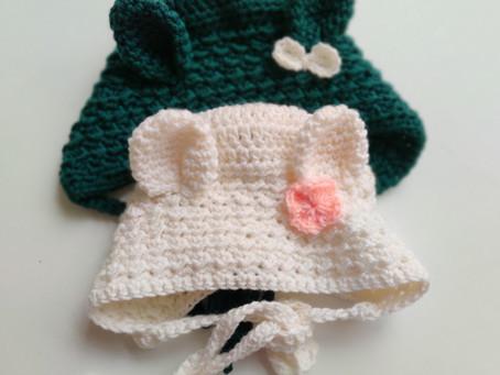 Hazel Baby Bonnet