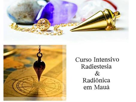 Curso de Radiestesia e Radiônica em Mauá (11/05/19)