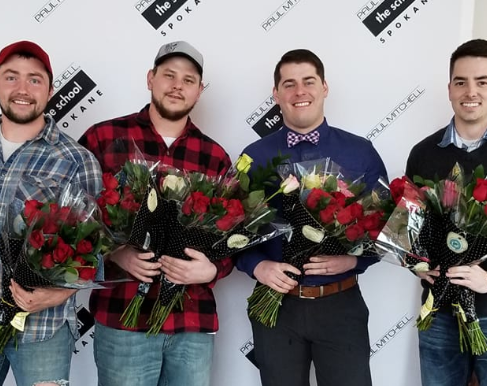 These Guys Deliver Hundreds of Roses to Widows, Military Wives, and Single Women on Valentine's Day