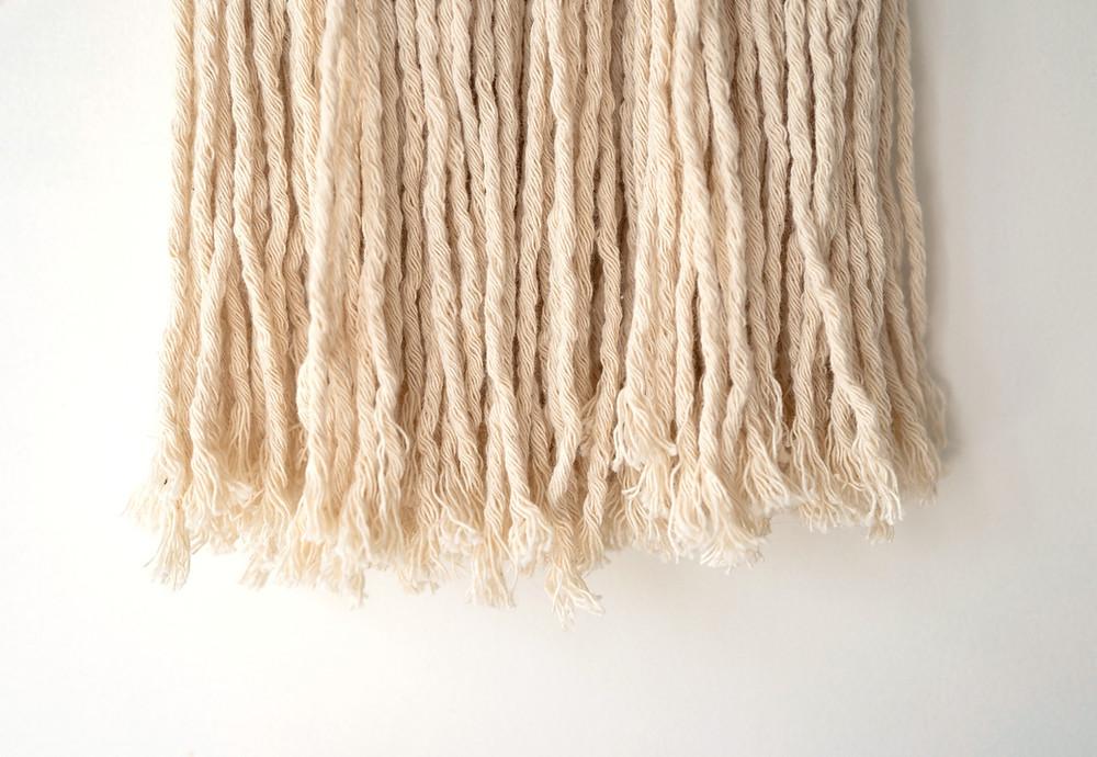 Flecos telar hilado de algodón