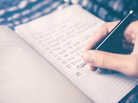 Cómo hacer listas de tareas que funcionan