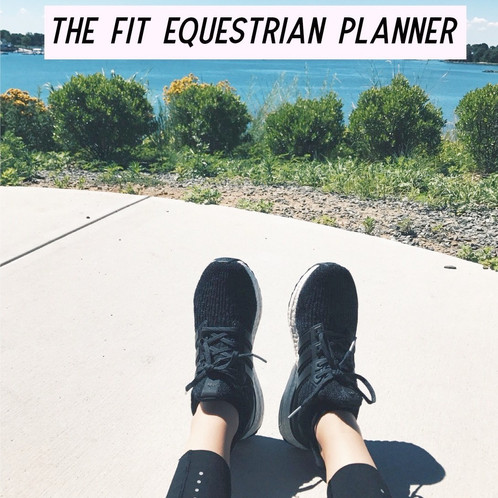 The Fit Equestrian has a simple and easy to follow workout guide
