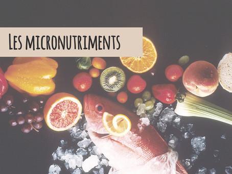 Les micronutriments