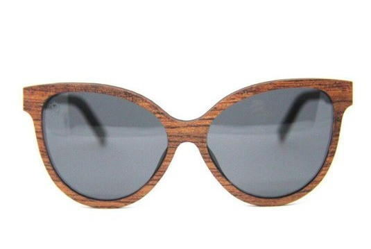 Óculos De Sol Feminino De Madeira Ariel Wood, MafiawooD