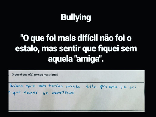 Bullying, sabes como ajudar?!