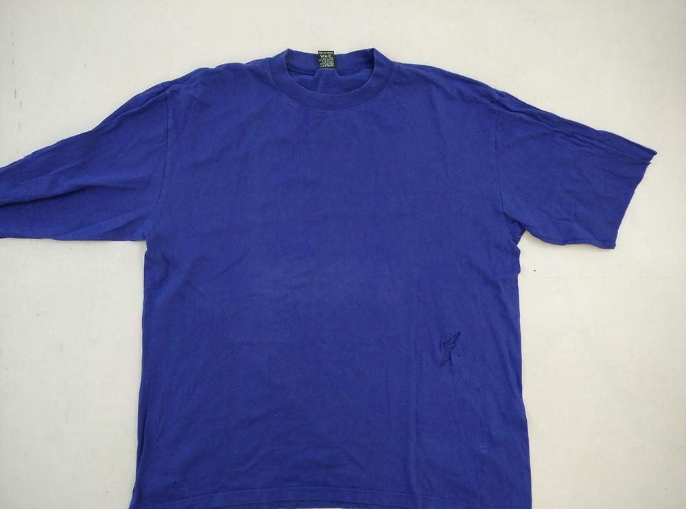 Men's blue large t shirt