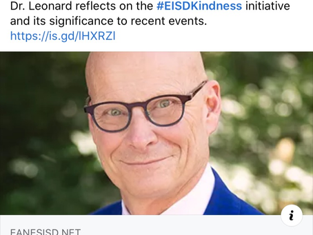 EISD Kindness Initiative-Now More Than Ever