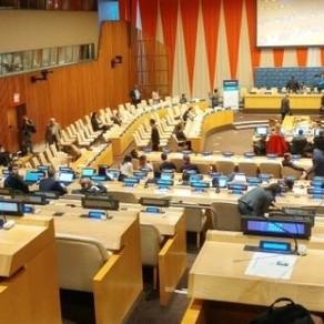인프라 개발 혁신 및 지속 가능한 산업화 촉진에 관한 유엔ECOSOC 특별회의 참석