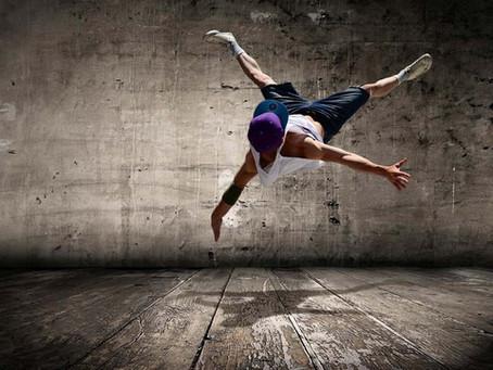Brett utbud av digitala dansworkshops