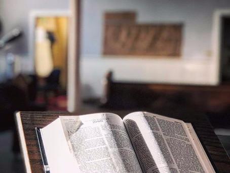 Virtual Worship begins THIS Sunday 3/15/20