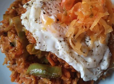 RECIPE: Katz Kimchi Spicy Fried Rice