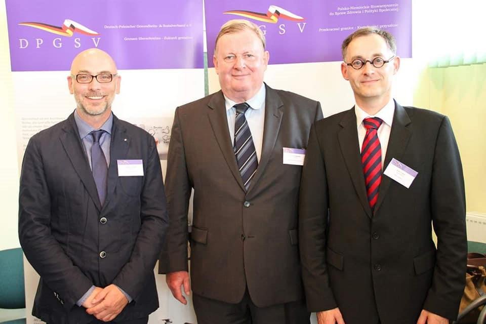 Christian Lombardt, Jacek Lukomski, Enrico Triebel