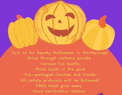 Marlborough Spooky Halloween Parade october 30