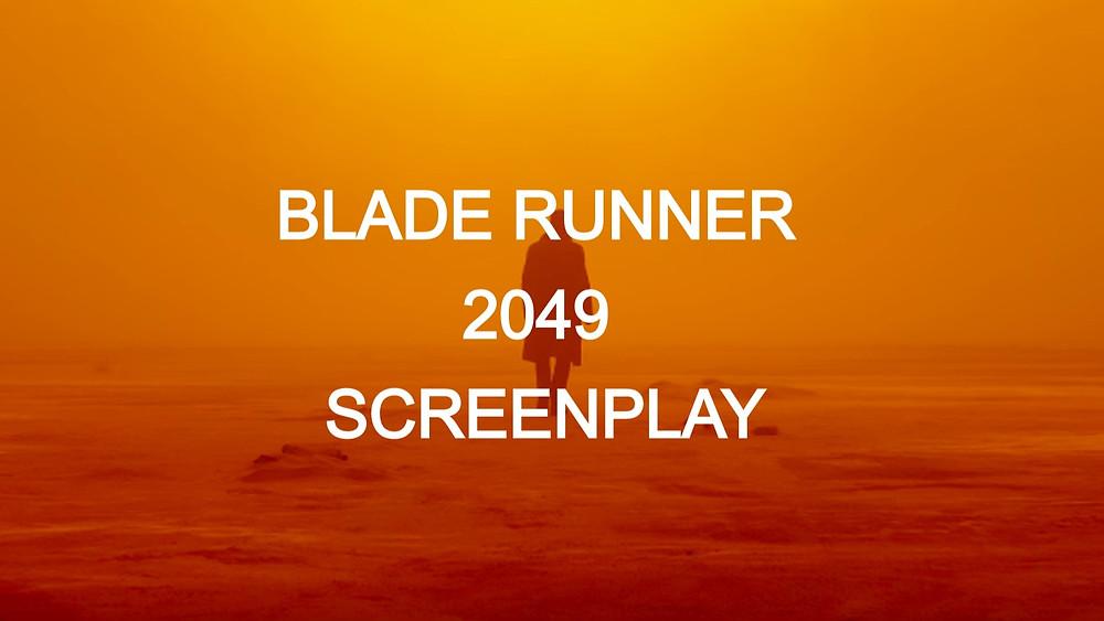 Blade Runner 2049 Script