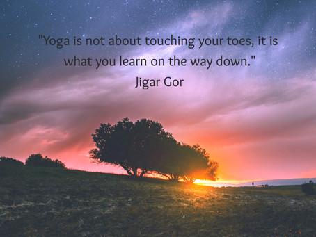 Yogi Wisdom of the Day
