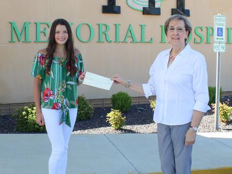 Jany Recipient of Pathfinder Scholarship