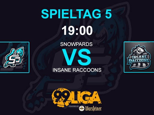CS:GO - SNOWPARDS vs INSANE RACCOONS DIAMOND