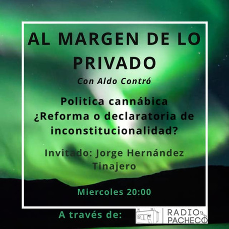 """""""Jorge Hernandez Tinajero"""" Al Margen de lo Privado Prog 11"""