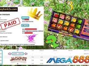 Fairy Garden slot game tips to win RM3700 in Mega888