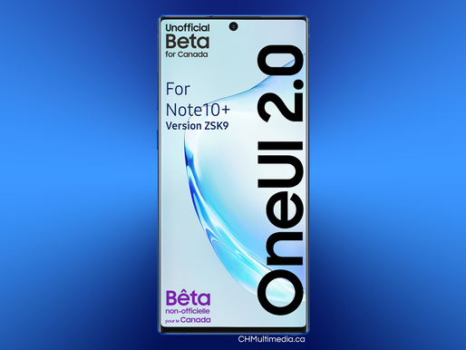 OneUI 2 beta for Note10+ available