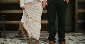 Dalia and Tom: Snowy Bohemian Elopement at Savage River Lodge