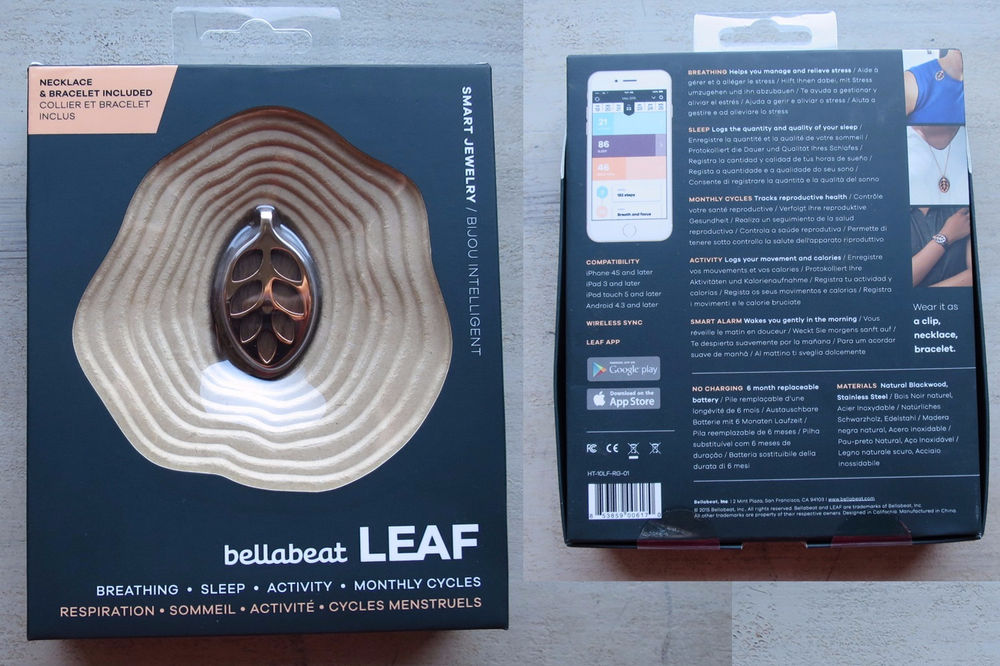 Bellabeat Leaf Smart JewelleryHealth TrackerRose Gold 50 The