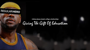 Lebron is giving the gift of education, sending over 1,000 students to college for FREE