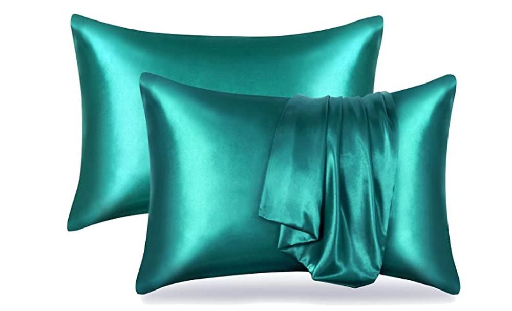 cover de almohadas de satén