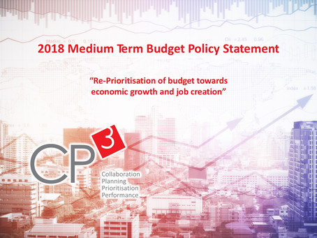 2018 Medium Term Budget Policy Statement: How to Re-prioritise