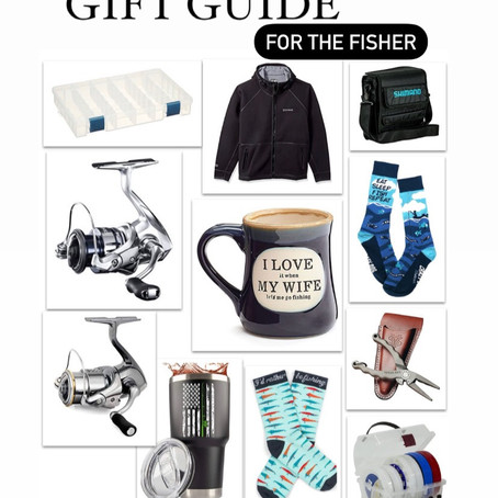Gift Inspiration for the Fisher in your Life (or you!)