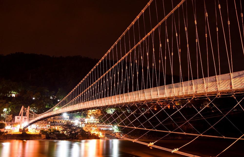 Brixel Architecture Lakshman Laxman Jhula Rishikesh Uttrakhand suspension bridge