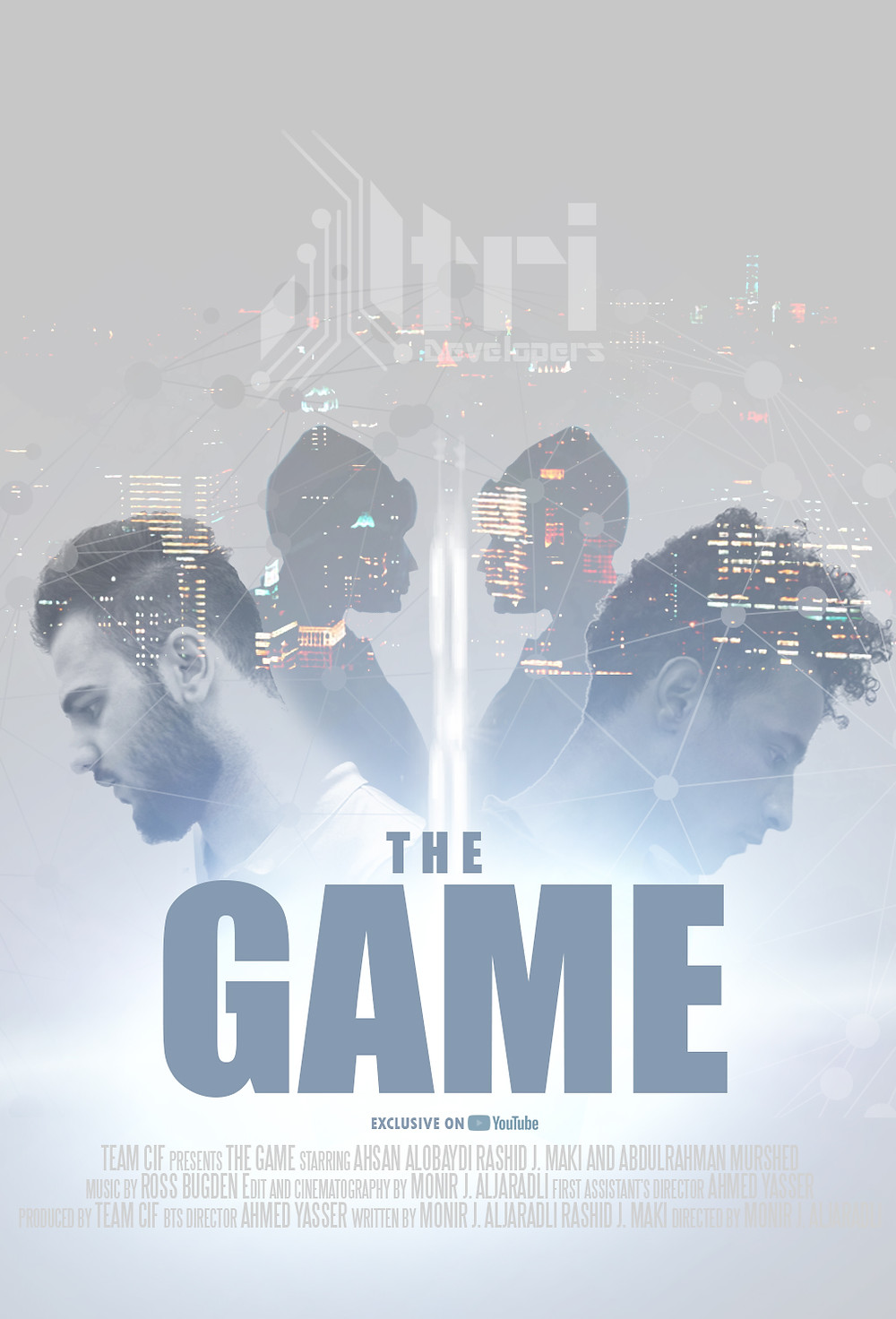 The Game short movie poster
