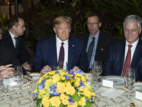 Trump Dined With Brazilian Who Tested Positive for Coronavirus