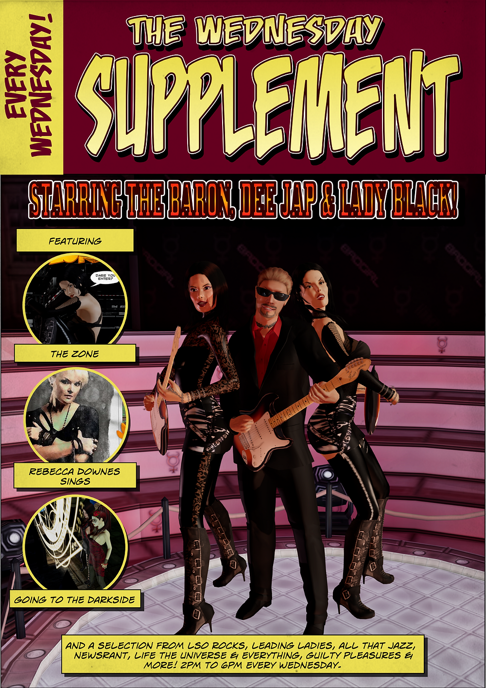 The Wednesday Supplement promo on revolutionradio.online