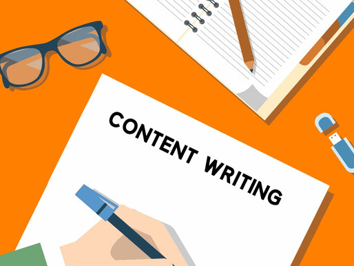 What is Content Writing means to Consulting ?