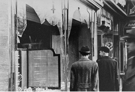 """Never a Bystander Be"" - Remembering Kristallnacht"