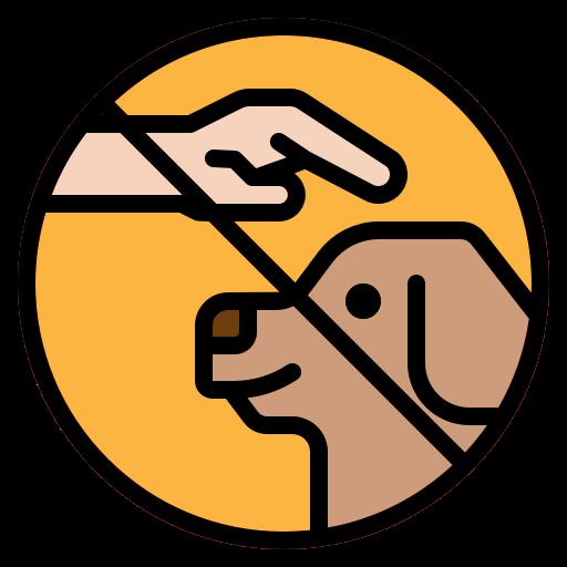 5859210 - dog gestures hands trainer training