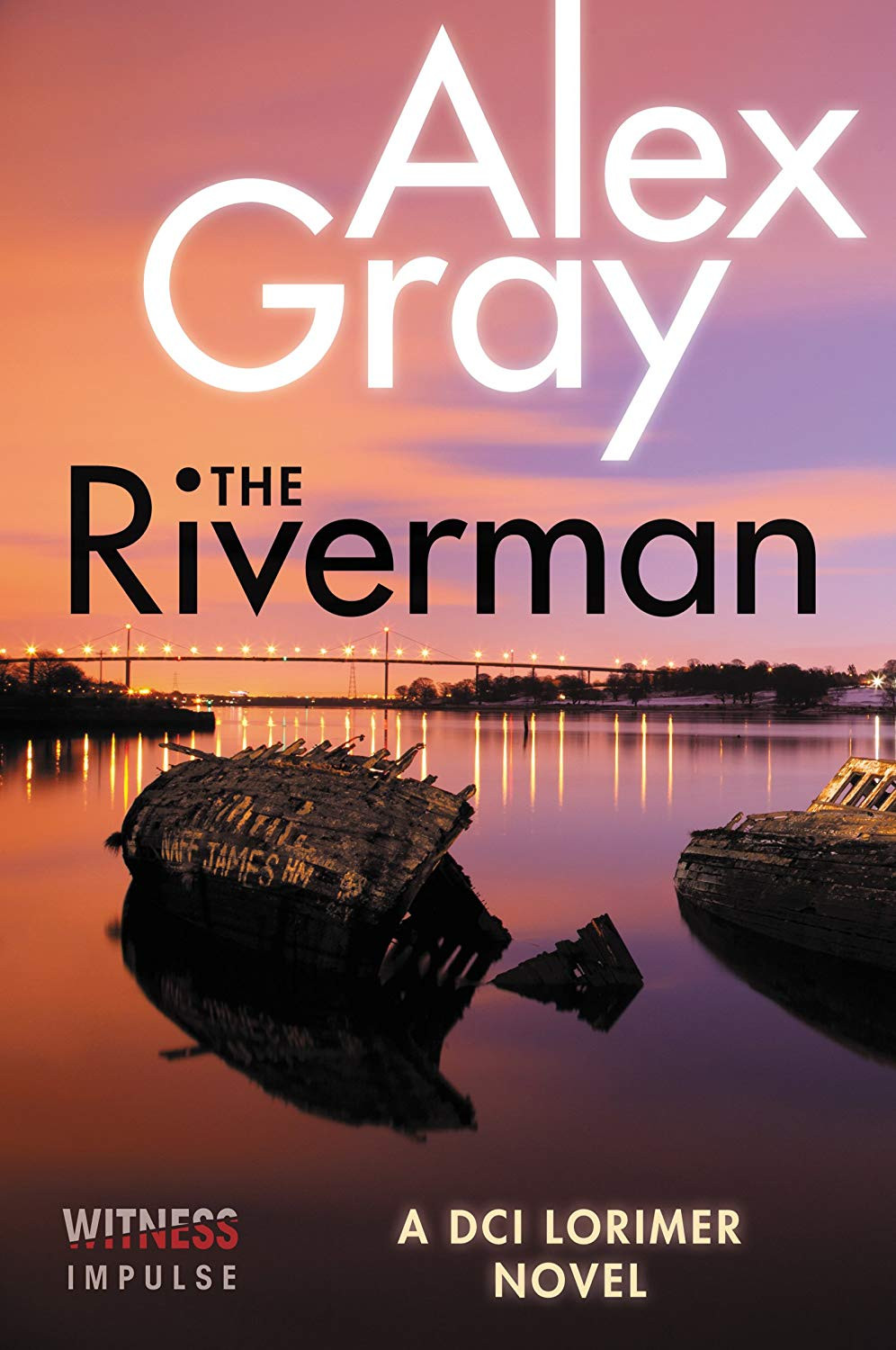 The Riverman by Alex Gray thebookslut