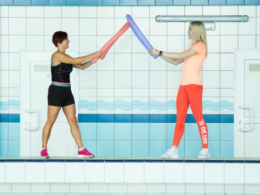 Аква-фитнес: две новых тренировки.