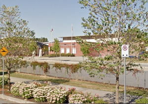 Langley's R.C. Garnett Demonstration Elementary was closed down Thursday as summer classes were disrupted by what was thought to be a gas leak.