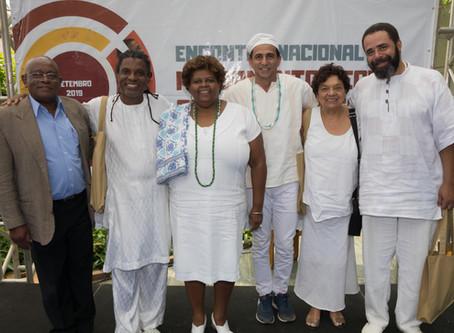 Filosofia e ancestralidade são os temas do último dia do Encontro Nacional Pensamento Negro Contempo