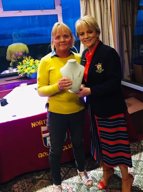 Deirdre Britton Wins Lady Captain's Charity Open