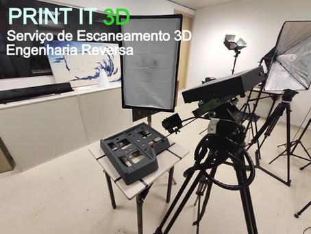 O que é scanner 3D? - Tipos de scanner 3D e a sua aplicação.